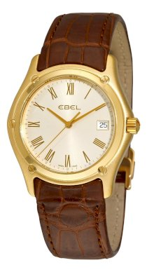 Ebel Men's 8255F41/6235134 Classic Silver Dial Yellow Gold Watch