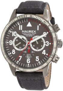 Haurex Italy Men's 9J300UGG Red Arrow Chronograph Watch