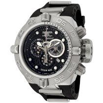 Invicta Men's 6576 Subaqua Noma IV Chronograph Black Polyurethane Watch