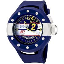 Invicta Men's 6641 S1 Rally Collection Race Circuit Edition GMT Blue Polyurethane Watch