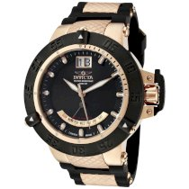 Invicta Men's 1577 Subaqua Noma III Black Dial Black Rubber Watch