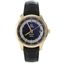 New omega deville hour vision mens watch 431.63.41.21.13.001
