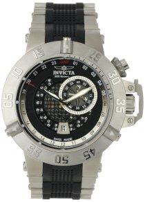 Invicta Men's 6161 Subaqua Noma III GMT Stainless Steel Watch