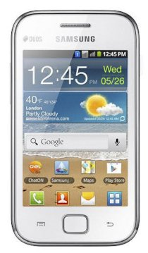 Samsung Galaxy Ace Duos S6802 White