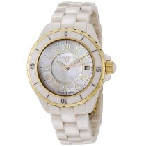 Swiss Legend Women's 20050-BGWGR Karamica Collection Beige High Tech Ceramic Watch