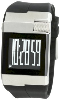 Kenneth Cole New York Men's KC1742 Digi-Tech Digital Roller-Ball Polyurethane Watch