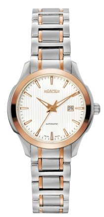 Roamer of Switzerland Women's 716561 49 25 70 Mechaline EOS Automatic Rose Gold IP Steel Watch