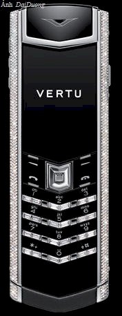 Vertu Signature S White Gold Diamond