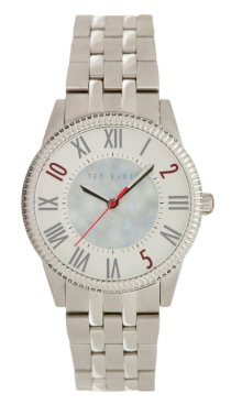 Ted Baker Women's TE4069 Quality Time MOP Center Dial Bracelet Watch