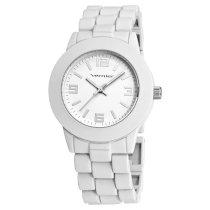 Vernier Women's VNR11119WT Soft Touch White Bracelet Watch