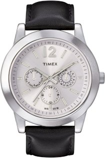 Timex Men's T2M809 Classic Sport Chronograph Black Strap Watch