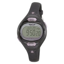 Timex Women's T5K187 Ironman Pulse Calculator Resin Strap Digital Watch