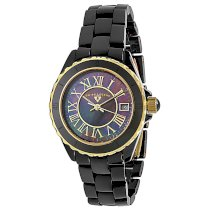 Swiss Legend Women's 20050-BKBGR Karamica Collection Ceramic Watch
