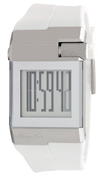 Kenneth Cole New York Men's KC1760 Digi-Tech Digital Roller-Ball Polyurethane Watch