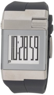Kenneth Cole New York Men's KC1743 Digi-Tech Digital Roller-Ball Polyurethane Watch