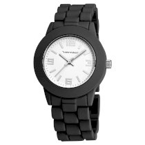 Vernier Women's VNR11119BK Soft Touch Black Bracelet Watch
