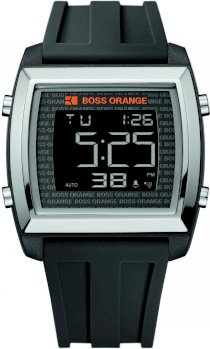 Boss Orange Sport LCD Watch for Him Solid Case 9046