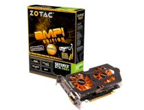 ZOTAC GeForce GTX 660 Ti AMP! Edition [ZT-60804-10P] (NVIDIA GeForce GTX 660 Ti, GDDR5 2GB, 192-bit, PCI-e 3.0)