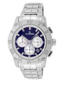 Le Chateau Men's 5435m-blandsil Cautiva Romano Chronograph Stainless Steel Watch