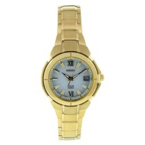Seiko Men's SUT024 Stainless Steel Analog with White Dial Watch