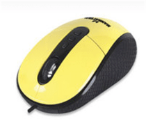 Manhattan RightTrack Mouse Yellow