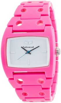 Vestal Destroyer Plastic Watch Pink/Pink/White, One Size DESP012