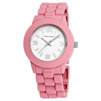 Vernier Women's VNR11119PK Soft Touch Pink Bracelet Watch