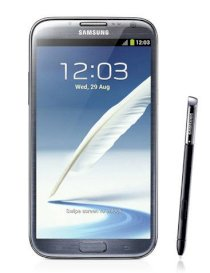 Samsung Galaxy Note II (Galaxy Note 2/ Samsung N7100 Galaxy Note II) Phablet 16Gb Titanium Gray (For AT&T)