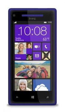 HTC Windows Phone 8X (HTC Accord) Blue