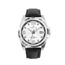 Certus Men's 610931 Classic Silver Dial Strap Date Watch