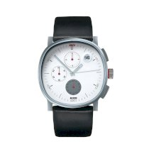 Alessi Men's AL5019 Tic Chronograph in Stainless Steel Mat Designed by Piero Lissoni Watch