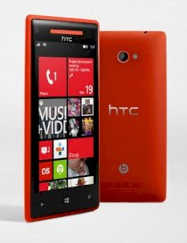 HTC Windows Phone 8X (HTC Accord) Red