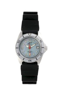 Chris Benz One Lady Caribbean - Silver KB Wristwatch for Her Diving Watch