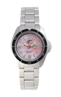 Chris Benz One Medium 200m Pink - Black MB Wristwatch Diving Watch