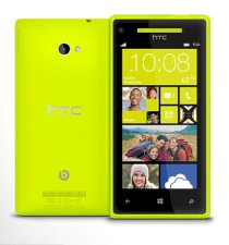 HTC Windows Phone 8X (HTC Accord) Yellow