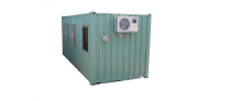 Container văn phòng 20 feet có toilet Happer Container