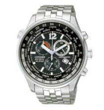 Đồng hồ Nam Citizen Eco Drive Chronograph World Time AT0360-50E AT0360