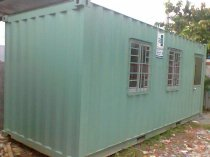 Container văn phòng Happer Container 20 feet có toilet