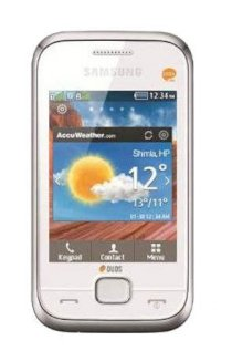 Samsung Champ Deluxe Duos C3312 (GT-C3312) White