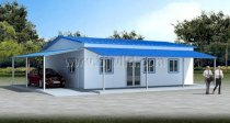 Prefabricated Building A Type House - Residential