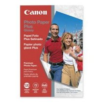 Canon photo Paper Plus glossy, 120sheets, 72ibs, 4x6