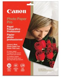 Canon photo paper Pro/15sheets