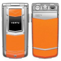 Ayxta Orange Sapphire Keys Orange Leather