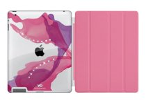 Case White Diamonds & iPad Smart Cover (Hồng)