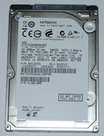 Hitachi 320GB - 5400rpm - 8MB Cache - SATA 3