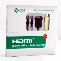 Cable HDTV to VGA ZQ2002B
