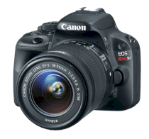 Canon EOS Rebel SL1 (EOS Kiss X7 / EOS 100D) (EF-S 18-55mm F3.5-5.6 IS STM) Lens Kit