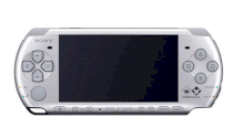 Sony PlayStation Portable (PSP) 3000 MS (Mystic Silver)