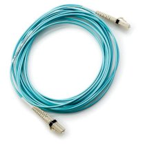 HP LC to LC Multi-mode OM3 2-Fiber 2.0m 1-Pack Fiber Optic Cable (PN:AJ835A)