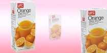 Nước cam 40% Orange Juice 1l